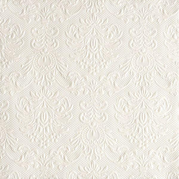 Serviette Pearl White 40x40 cm 15 Stück bei Tischdeko-Shop.de