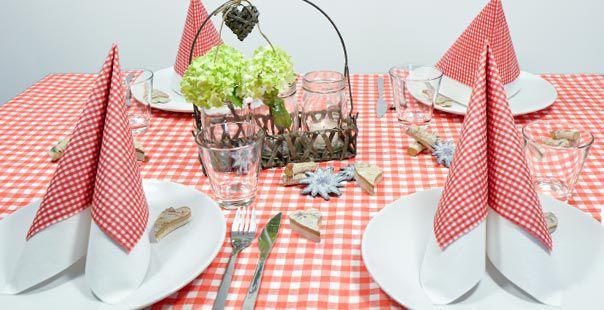Tischdekoration Bayern Rot Weiss Kaufen Tischdeko Shop