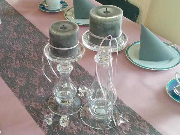 Kerzenständer SHINE Glas