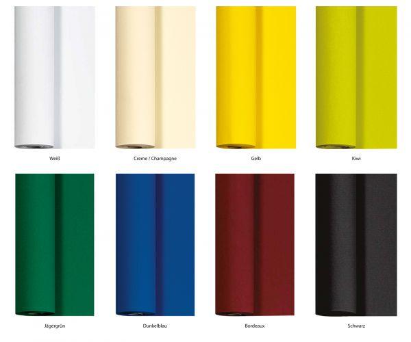 Duni Joy Tischdeckenrolle Dunicel 1,18m x 40m Farbkarte bei Tischdeko-Shop.de