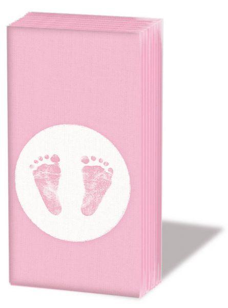 Taschentücher Baby Steps Rosa 10er Set