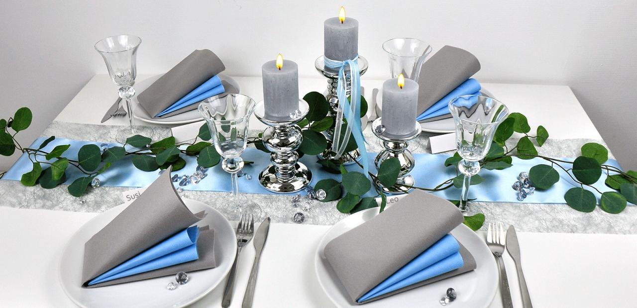 Tischdekoration Fur Eine Unvergessliche Hochzeitsfeier