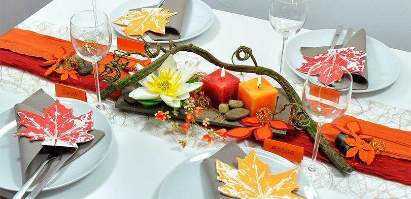 Tischdeko Ideen Fur Die Herbstliche Tischdekoration