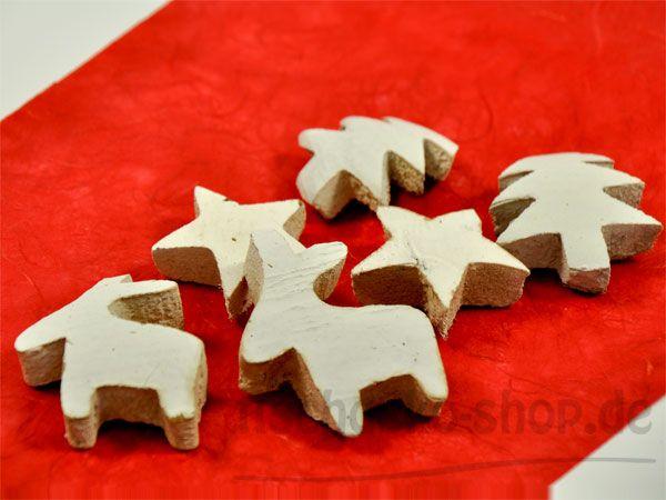 Weihnachtlicher Kokosmix 6Stück