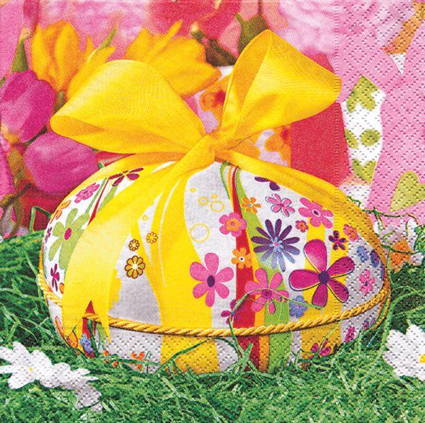 Motiv-Serviette My Easter Egg 33x33cm 20er Pack bei Tischdeko-Shop.de