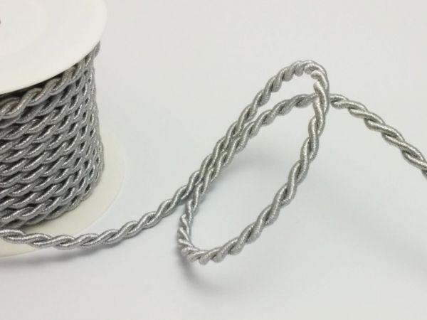 Kordel Silber Ø7mm 10 Meter Vorteilsrolle