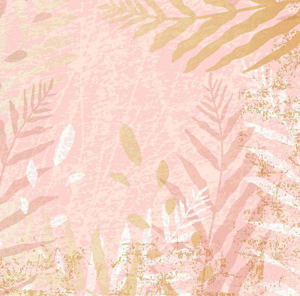 Dunisoft Serviette Elda Rosa Weiß Gold 40cm 60 Stück bei Tischdeko-Shop.de