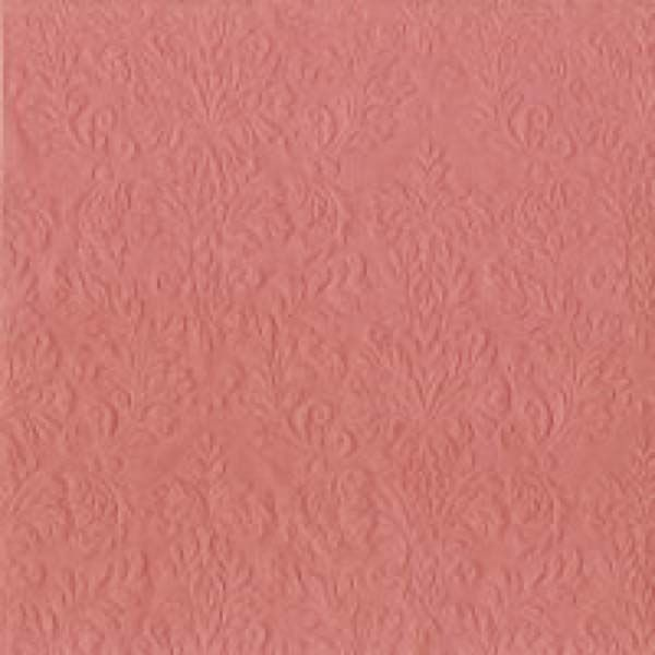 Serviette Cameo Old Rose geprägt 33x33cm 16er Pack