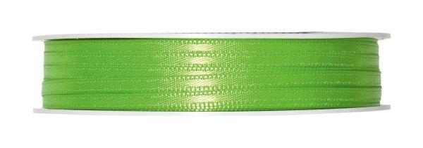Dekoband Geschenkband Satin Apfelgrün 3mm breit bei Tischdeko-Shop.de