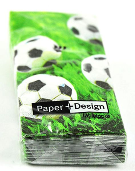 Taschentücher Go for Goal Fußballmotiv 10er Se bei Tischdeko-Shop.de