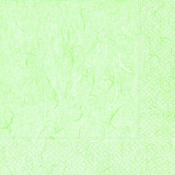 Serviette Pure Pale Green 33x33cm 20er Pack bei Tischdeko-Shop.de