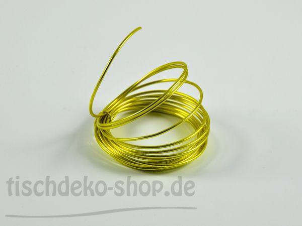 Aludraht-Ring Limone Ø 2mm 3 Meter
