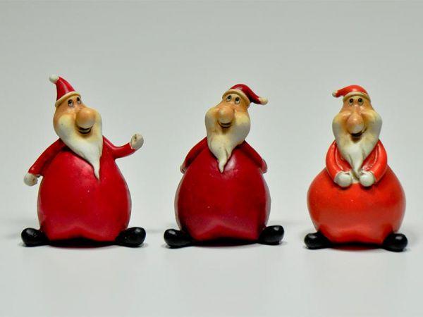 Weihnachstmann Erik 3er Set