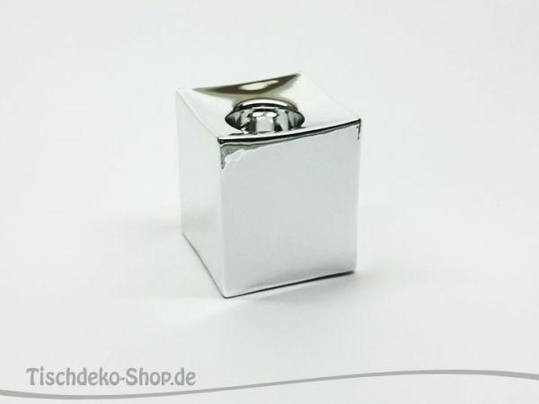Teelichthalter Varuna Silber