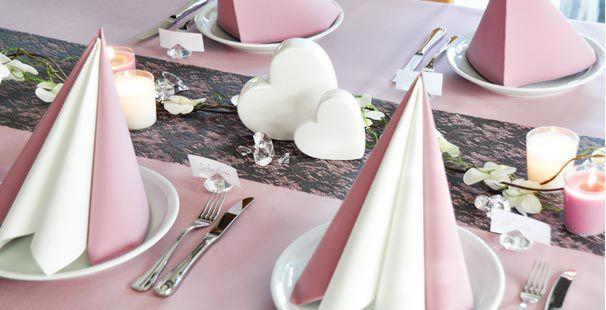 Tischdekoration Zur Hochzeit Kaufen, Modern Dekoo