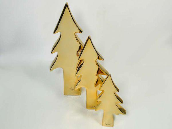 Baum Gold Porzellan