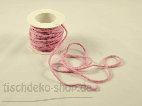 Wollschnur Rosa 10m Vorteils-Rolle