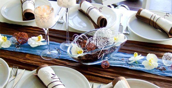Tischdeko gr n taupe alle guten ideen ber die ehe - Tischdeko konfirmation grun ...