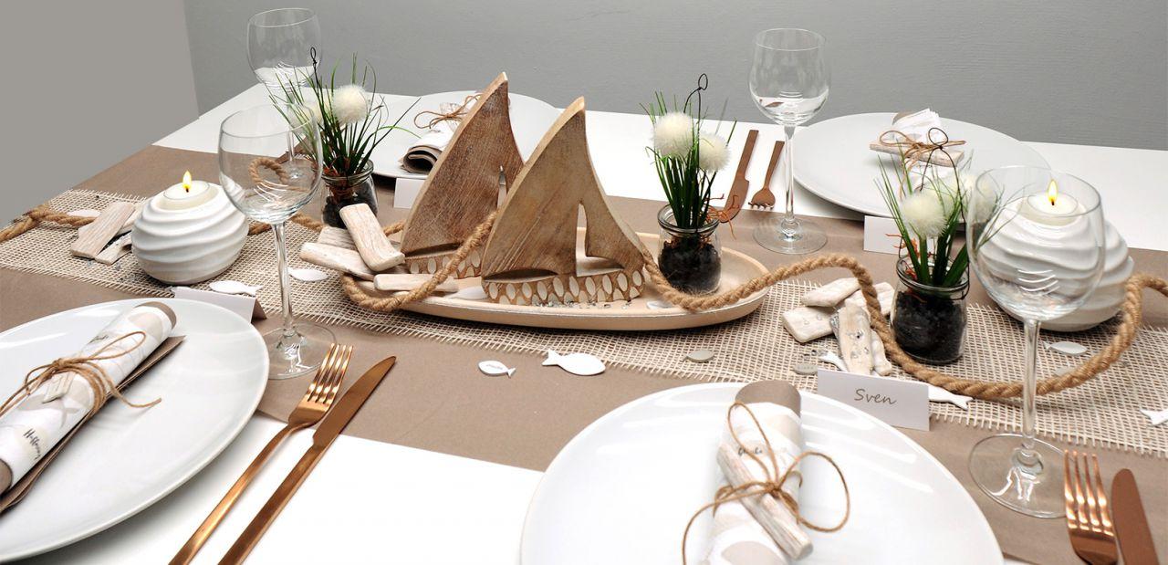 """80 Servietten Hochzeit/""""Peaceful Fish creme-gold*Konfirmation*Tisch-Deko*Fisch"""