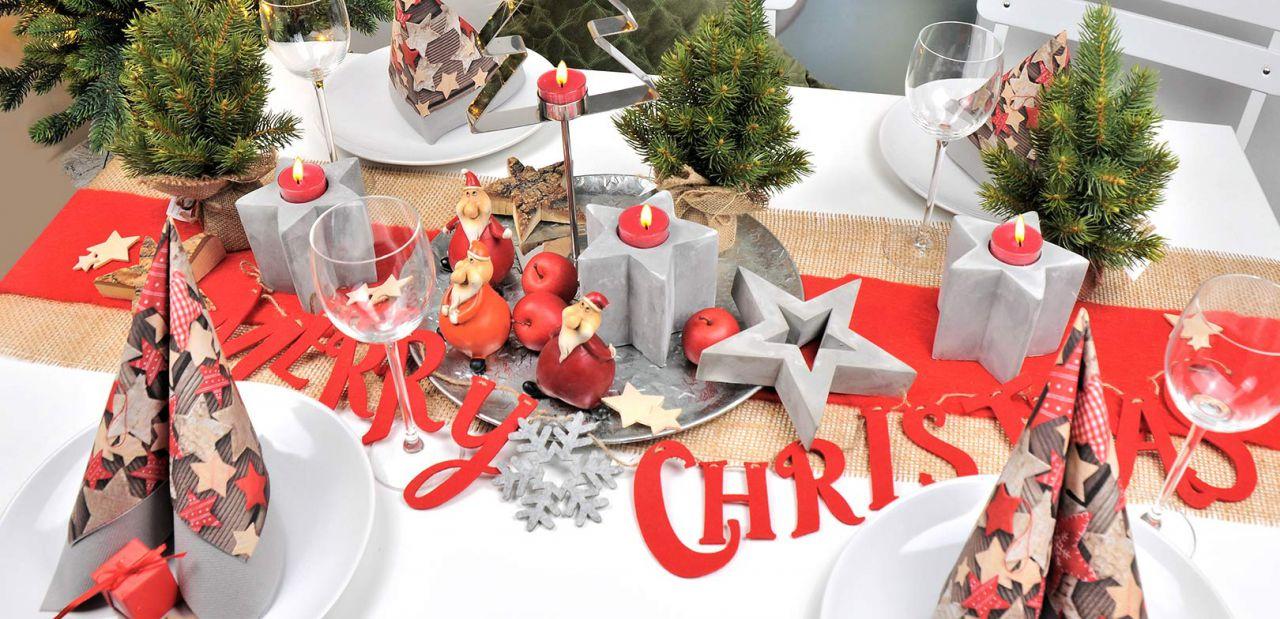 Weihnachtsdeko Für Gastronomie.Weihnachts Tischdekoration Kaufen Bei Tischdeko Shop
