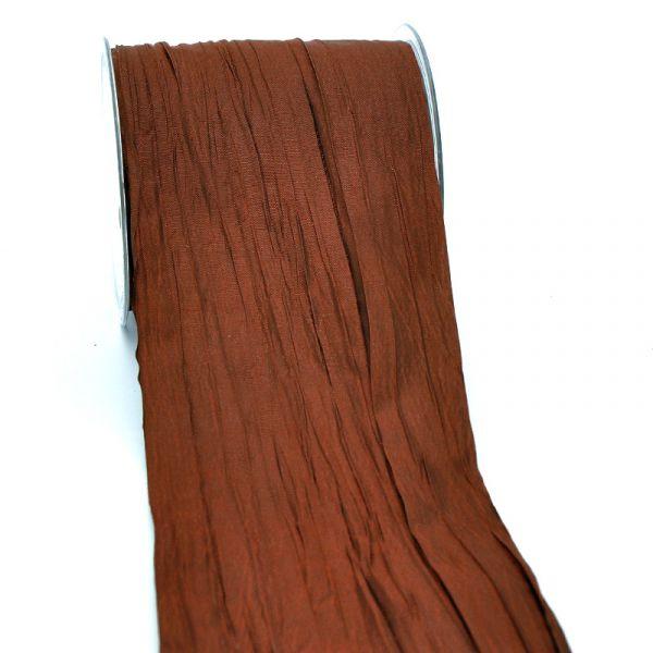 Crash-Taft-Band Braun 10cm x 15 Meter Vorteilsrolle