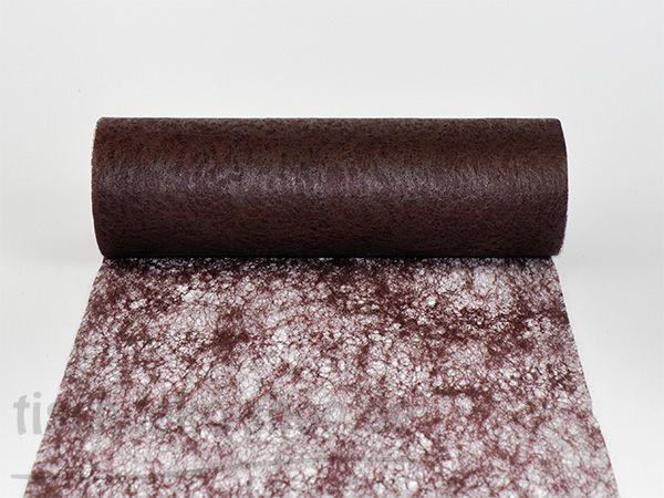 Vlies-Band Braun 23cm breit auf 20-m-Vorteilsrolle