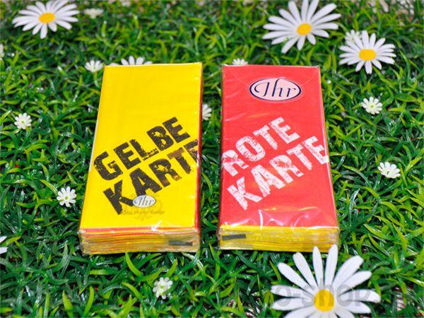Taschentücher Rote Oder Gelbe Karte