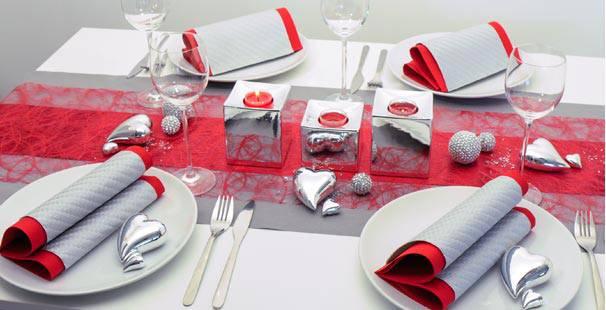 Tischdekoration Fur Die Silberhochzeit Kaufen