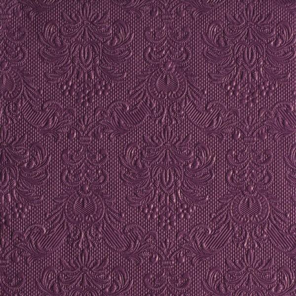 Serviette elegance aubergine 40x40 cm bei tischdeko for Tischdeko aubergine