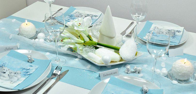 Winter Tischdekoration Kaufen Bei Tischdeko Shop