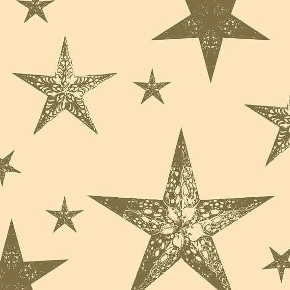 Serviette Duni My Star Cream 20er Pack