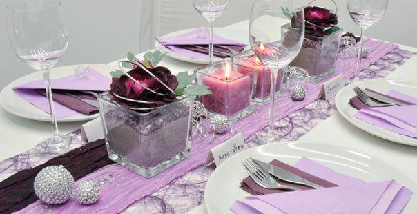 hochzeitsdeko lila silber die besten momente der hochzeit 2017 foto blog. Black Bedroom Furniture Sets. Home Design Ideas