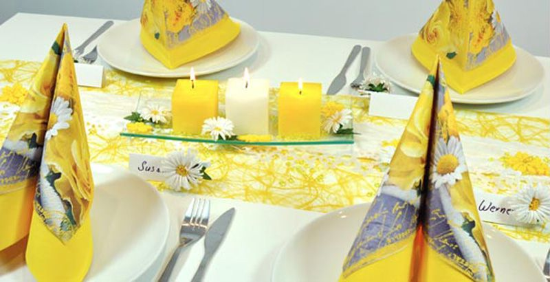 Tischdekoration f r jeden anlass tischdeko shop - Sommerliche tischdekoration ...