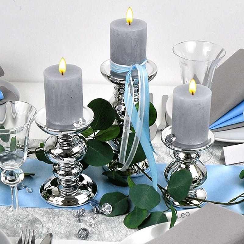Blau Silber