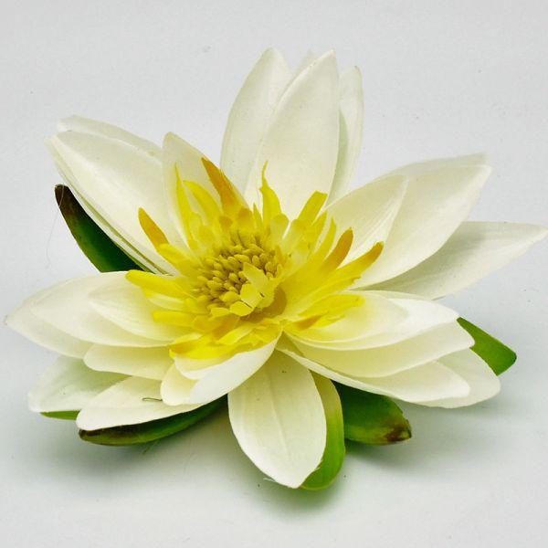 Lotusblüte Creme D 15cm bei Tischdeko-Shop.de