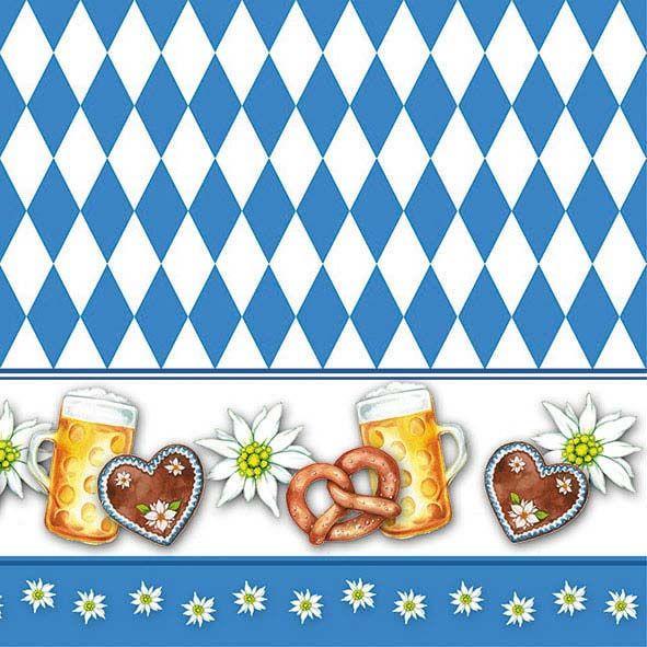 Serviette Oktoberfest 33x33 cm