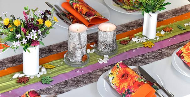 Pin tischdeko braun gr n jpg on pinterest for Tischdeko shop