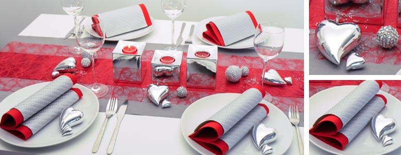 Rot grau herzen online kaufen tischdeko for Tischdeko shop