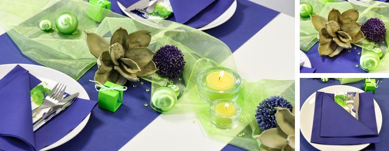 Blau / Grün online kaufen - Tischdeko-Shop.de
