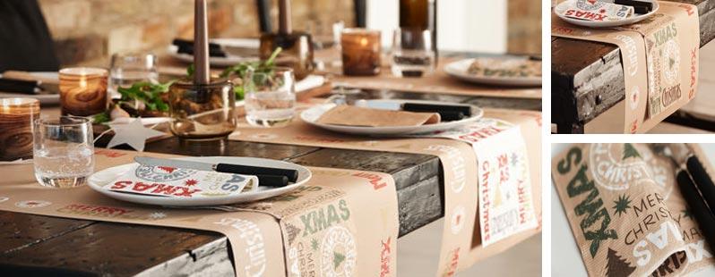 Winter craft online kaufen tischdeko for Duni weihnachtsservietten