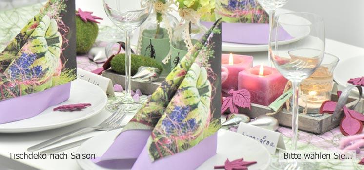 tischdeko ihr online shop f r die perfekte tischdekoration. Black Bedroom Furniture Sets. Home Design Ideas