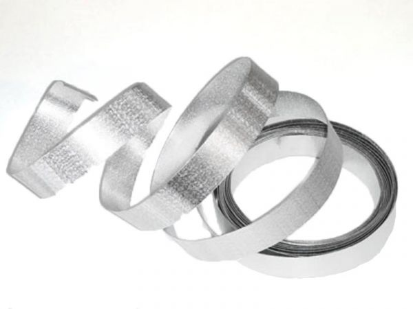 Aluflachdraht Silber als Dekodraht Basteldraht 20mm x 5m bei Tischdeko-Shop.de