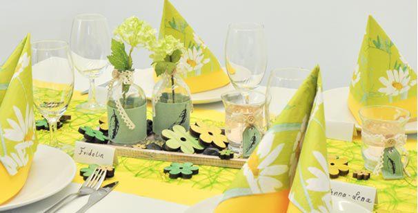 tischdeko hellgrn stunning tischdeko hochzeit hortensien im glas u reimplica best garten ideen. Black Bedroom Furniture Sets. Home Design Ideas