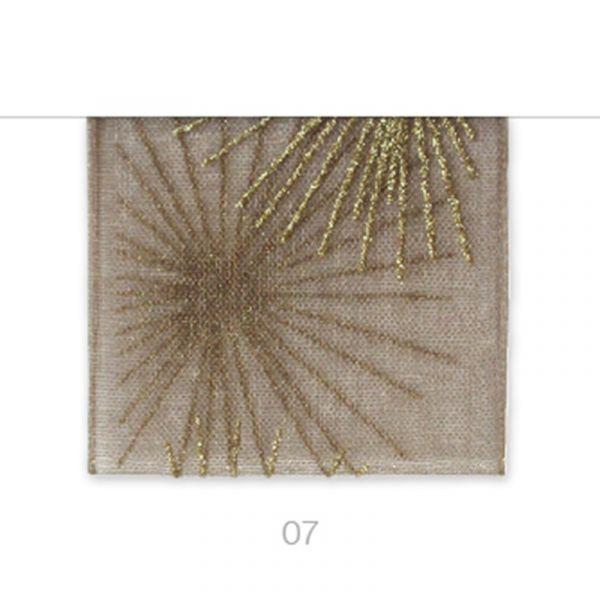 Tischband Glitz Taupe 28cm x 2.5 Meter