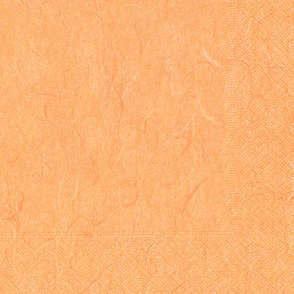 Lunch-Serviette Pure Apricot 25x25cm 20er Pack bei Tischdeko-Shop.de