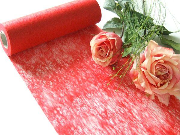 Vlies-Band Rot 23cm breit auf 20-m-Vorteilsrolle