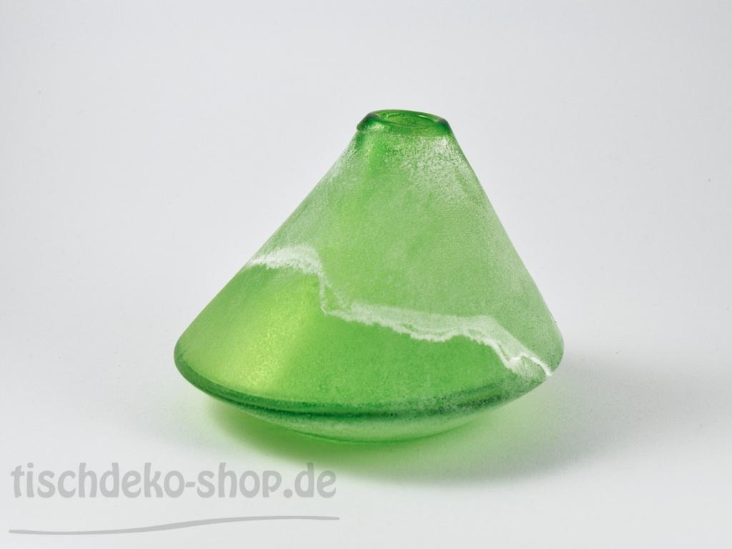 vase bocca gr n 16cm h10cm schn ppchen tischdeko. Black Bedroom Furniture Sets. Home Design Ideas