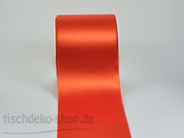 satinband orange 10cm breit satinband tischb nder tischl ufer tischdeko produkte. Black Bedroom Furniture Sets. Home Design Ideas