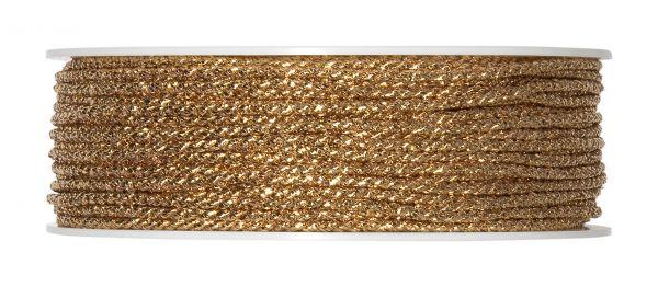 Kordel Gold glänzend D 2mm 50m Vorteilsrolle bei Tischdeko-Shop.de
