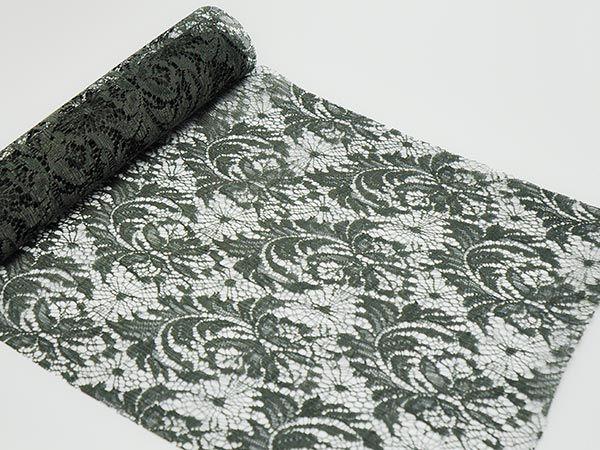 Tischband Spitze Florence Grau 0.28x2.5m